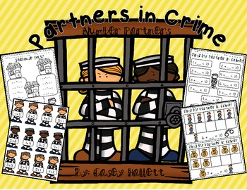 Partners in Crime {Number Partner Printables & Math Centers}