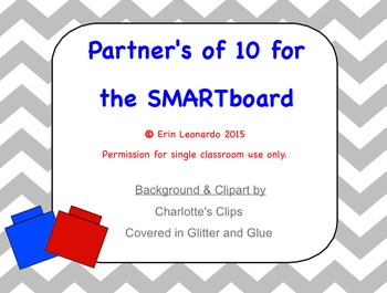 Partners of 10 Activity for SMARTboard
