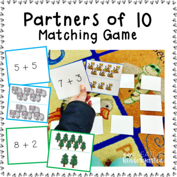 Partners of 10 Matching Game
