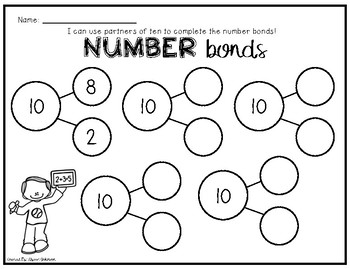 Partners of 10 Number Bonds