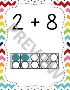 Partners of Ten (Make a Ten) Posters Bundle