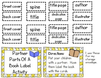 Parts Of A Book - 5 Day Mini Guided Reading Lessons