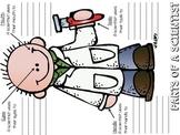 Parts Of A Scientist (Boy&Girl)