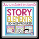 STORY ELEMENTS PARTS OF A STORY: FREE PAPER FORTUNE TELLER