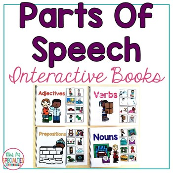 Parts Of Speech Interactive Books
