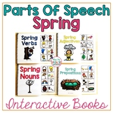 Spring Parts Of Speech Interactive Books