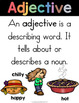Parts Of Speech Picture Word Sort and Writing Printables (Fall Themed)