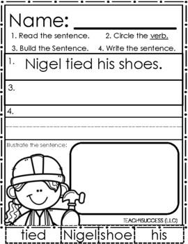Parts Of Speech (Sentence Building)