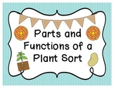 Parts and Functions of a Plant Sort