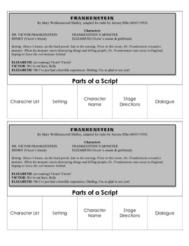 Parts of A Script Foldable