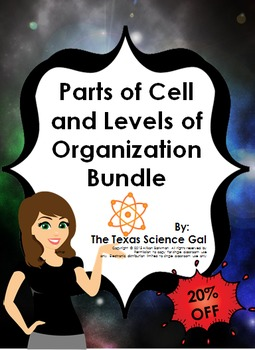 Parts of Cell and Levels of Organization Bundle