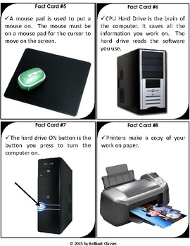 Parts of Computer Scavenger Hunt
