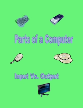 Parts of a Computer -Quizzes with Pictures