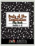 Parts of Constitution Flip Book - Interactive Notebook Insert