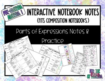 Parts of Expressions Notes for IN