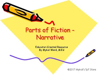 Parts of Fiction / Narrative (in pdf)