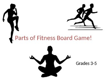 Parts of Fitness Board Game