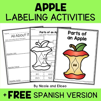 Vocabulary Activities - Parts of Living Things