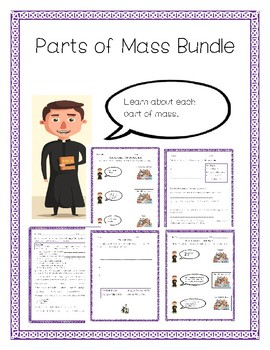 image relating to New Mass Responses Printable identify Components Of The M Worksheets Instruction Materials TpT