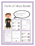 Parts of Mass Activities, Responses, and Assessments Bundle