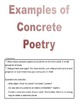 Parts of Poetry - Mentor Poems & Examples