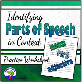 Parts of Speech in Context