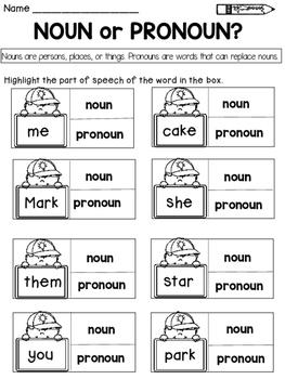 Parts of Speech: Nouns, Verbs, Pronouns, Adjectives, and Adverbs