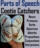 Parts of Speech Quiz 5th, 6th, 7th, 8th Grade Grammar Games Practice