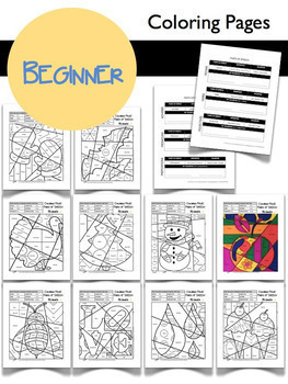Parts of Speech Coloring Sheets ALL YEAR Bundle - Great Winter Activity!