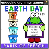 Earth Day Grammar Game - Parts of Speech