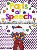 Parts of Speech | A Craft to Review Nouns, Verbs, Adjectives, Pronouns