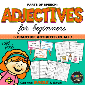 Parts of Speech - ADJECTIVES