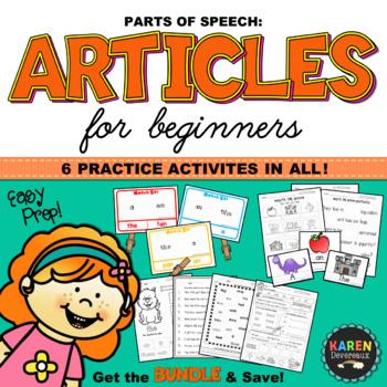 Parts of Speech - ARTICLES