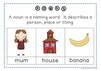 VCOP wow word Activities