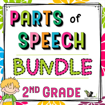 Parts of Speech Activities - 2nd Grade Bundle