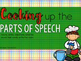 Parts of Speech Activities {Cooking it Up!}
