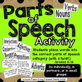 Parts of Speech Activity