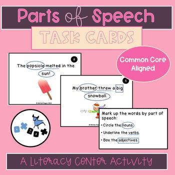 Parts of Speech Activity: An ELA Center or Game