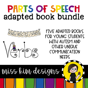 Parts of Speech Adapted Book Bundle: 5 Adapted Books