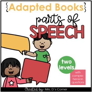 Parts of Speech Adapted Book [Level 1 and Level 2]