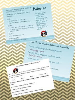 Parts of Speech: Adverb - Penguin Pirate Lessons