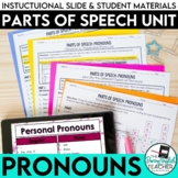 Pronouns: Parts of Speech, PowerPoint, Lessons, Activities, Tests