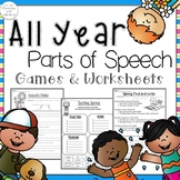 Parts of Speech *All Year Long*
