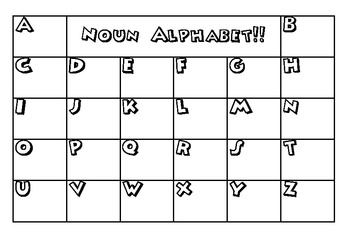 Parts of Speech Alphabets