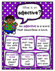 Parts of Speech Anchor Charts