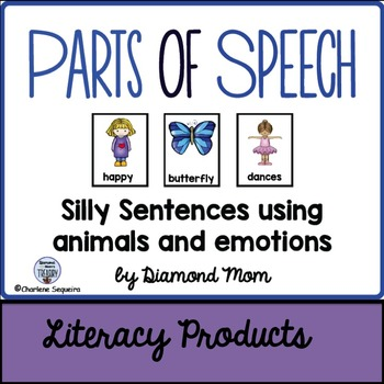 Parts of Speech - Animals and Emotions