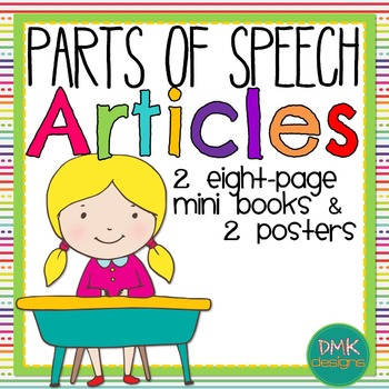 Parts of Speech: Articles Mini Book and Poster Set