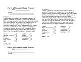 Parts of Speech Assessment Checklist