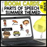 Parts of Speech BOOM CARDS (Nouns, Verbs, Adjectives) SUMM