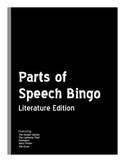 Parts of Speech Bingo: Literature Edition